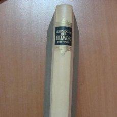 Libros de segunda mano: ANTOLOGÍA DEL HUMOR. 1959-1960. AGUILAR 1959.. Lote 13563818