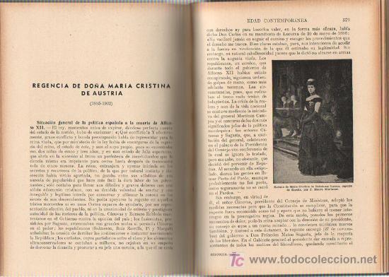 Libros de segunda mano: 1943 - HISTORIA DE ESPAÑA - AGUSTIN BLANQUEZ FRAILE - 436 GRABADOS - 6 MAPAS DESPLEGABLES - Foto 5 - 11762850