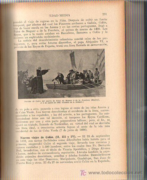 Libros de segunda mano: 1943 - HISTORIA DE ESPAÑA - AGUSTIN BLANQUEZ FRAILE - 436 GRABADOS - 6 MAPAS DESPLEGABLES - Foto 4 - 11762850