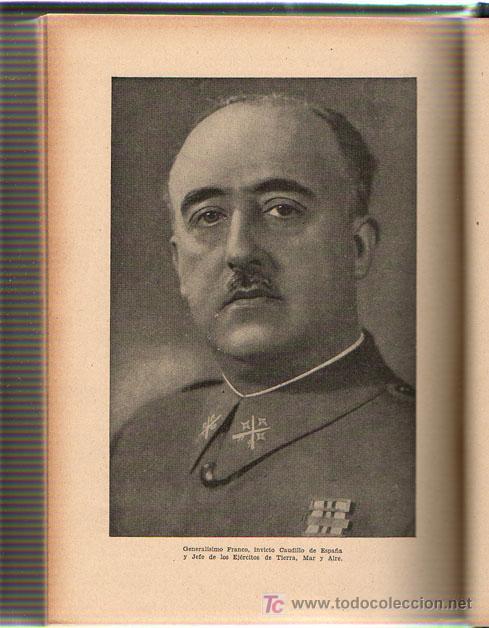 Libros de segunda mano: 1943 - HISTORIA DE ESPAÑA - AGUSTIN BLANQUEZ FRAILE - 436 GRABADOS - 6 MAPAS DESPLEGABLES - Foto 3 - 11762850