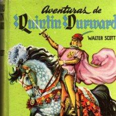 Libros de segunda mano: AVENTURAS DE QUINTÍN DURWARD - WALTER SCOTT - ED. MATEU / BARCELONA. Lote 19972313