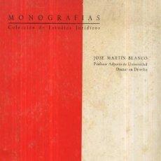 Libros de segunda mano: LA CONSTRUCCION COMO CAUSA EXTINTIVA DEL ARRENDAMIENTO URBANO (A/ DE- 124). Lote 3372282