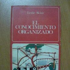 Libros de segunda mano: EL CONOCIMIENTO ORGANIZADO. LESLIE SKLAIR. EDITORIAL LABOR 1977. 304 PÁGINAS.. Lote 11849390