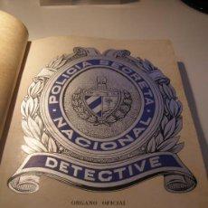 Libros de segunda mano: RARISIMO LIBRO LA POLICIA SECRETA EN CUBA 1937 A 1938 FOTOS Y GRABADOS F BATISTA EPOCA HISTORIA. Lote 87187979
