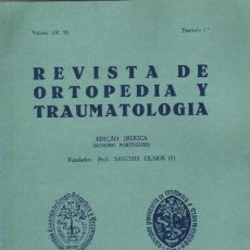 Libros de segunda mano: REVISTA DE ORTOPEDIA Y TRAUMATOLOGIA. JUNHO 1984. VOL. 10. FASC. 1 . Lote 12086326