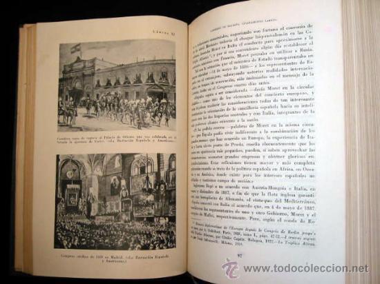 Libros de segunda mano: HISTORIA POLÍTICA DE LA ESPAÑA CONTEMPORANEA, por MELCHOR FERNANDEZ ALMAGRO, 1956, 2 tomos. - Foto 4 - 26383863
