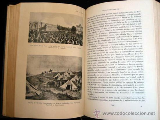 Libros de segunda mano: HISTORIA POLÍTICA DE LA ESPAÑA CONTEMPORANEA, por MELCHOR FERNANDEZ ALMAGRO, 1956, 2 tomos. - Foto 5 - 26383863