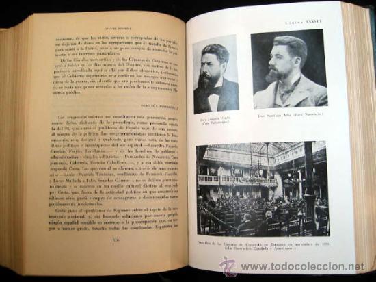 Libros de segunda mano: HISTORIA POLÍTICA DE LA ESPAÑA CONTEMPORANEA, por MELCHOR FERNANDEZ ALMAGRO, 1956, 2 tomos. - Foto 6 - 26383863