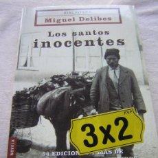 Libros de segunda mano: LOS SANTOS INOCENTES. MIGUEL DELIBES. ED. BOOKET. 2004.. Lote 12123386