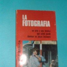 Libros de segunda mano: LA FOTOGRAFIA BIB.BASICA Nº20 EDT.BRUGUERA. Lote 26018779
