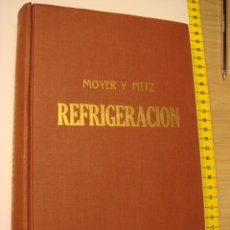 Livres d'occasion: LIBRO -MANUAL SOBRE REFRIGERACION. Lote 24846288