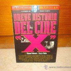 Libros de segunda mano: MANUEL VALENCIA Y SERGIO RUBIO - BREVE HISTORIA DEL CINE X - GLENAT 1995. Lote 12318493
