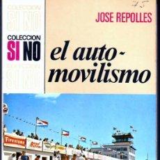 Libros de segunda mano: EL AUTOMOVILISMO. Lote 12370656