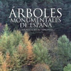 Libros de segunda mano: ARBOLES MONUMENTALES DE ESPAÑA.COMUNIDADES AUTONOMAS.MAS LIBROS EN RASTRILLOPORTOBELLO. Lote 21779223