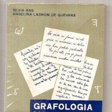 Libros de segunda mano: GRAFOLOGÍA MORFOLÓGICA .- SILVIS RAS Y ANGELINA LADRÓN DE GUEVARA. Lote 26274152