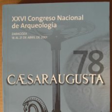 Libros de segunda mano: XXVI CONGRESO NACIONAL DE ARQUEOLOGÍA. Lote 12587228