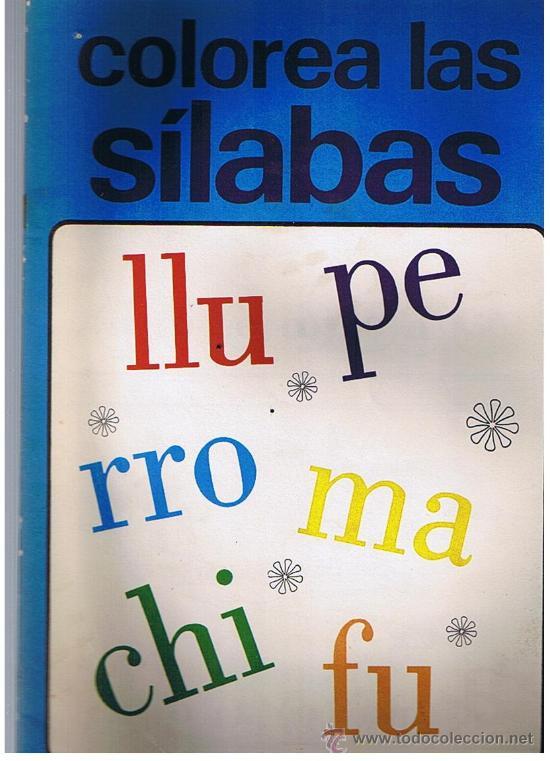 lote de 2 cuaderno colorea el abc y c. las sil - Comprar en ...
