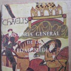 Libros de segunda mano: HISTORIA DE LA EDAD MEDIA ( SIGLOS XI AL XV ). Lote 12649717
