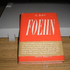 Libros de segunda mano: FOEHN (A. DAN). Lote 27525953