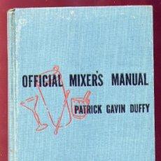 Libros de segunda mano: LIBRO DE COCTAILS - OFFICIAL MIXER´S MANUAL - NEW YORK 1940. Lote 23899152