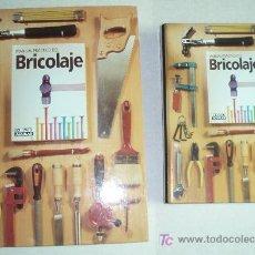 Libros de segunda mano: MANUAL PRACTICO DEL BRICOLAJE: LIBRO MÁS FICHAS. Lote 26034071