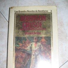 Libros de segunda mano: ROBINSON CRUSOE. Lote 12882187