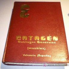 Libros de segunda mano: CATAGÉN CATÁLOGOS GENERALES -MUEBLES - VALENCIA. Lote 21355924