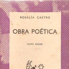 Libros de segunda mano: OBRA POETICA (A-AUSVI-164). Lote 13024563
