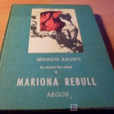 Libros de segunda mano: MARIONA REBULL ( IGNACIO AGUSTI ) 1962. Lote 13036418
