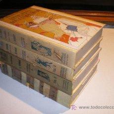 Libros de segunda mano: LOS CAMPESINOS - LOS 4 TOMOS (AÑOS 30-40) - LADISLAO REYMONT. Lote 21075070