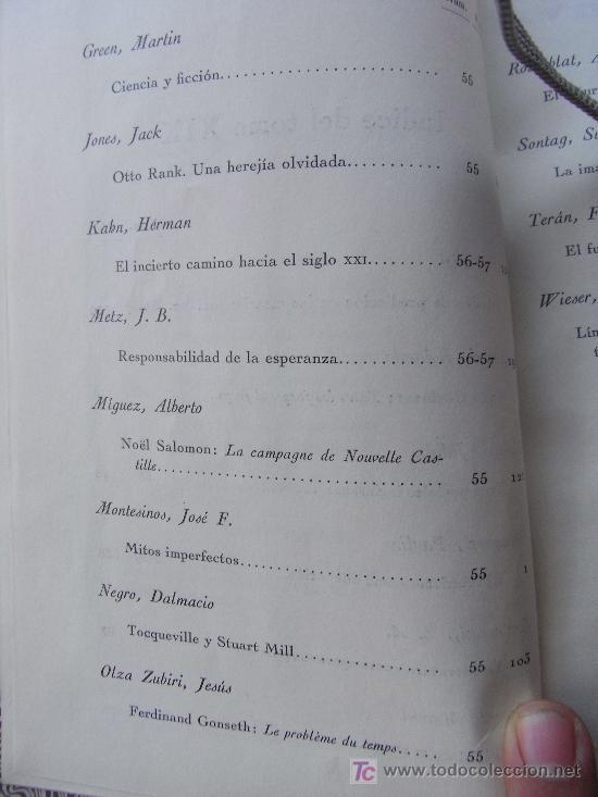Libros de segunda mano: REVISTA DE OCCIDENTE. TOMO XII (SEGUNDA ÉPOCA) . Susan Sontag, Daniell bell, etc - Foto 4 - 25959384