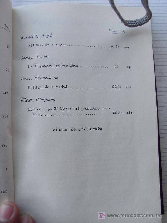 Libros de segunda mano: REVISTA DE OCCIDENTE. TOMO XII (SEGUNDA ÉPOCA) . Susan Sontag, Daniell bell, etc - Foto 5 - 25959384