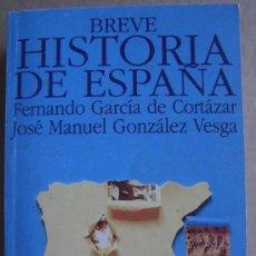 Libros de segunda mano: BREVE HISTORIA DE ESPAÑA. Lote 13142241