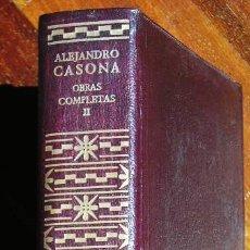 Libros de segunda mano: ALEJANDRO CASONA. OBRAS COMPLETAS, TOMO II.. Lote 26796488