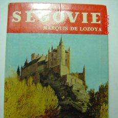 Libros de segunda mano: 8677 SEGOVIA GUIA + PLANO MARQUES DE LOZOYA - EN FRANCES AÑO 1961 COSAS&CURIOSAS. Lote 235195590