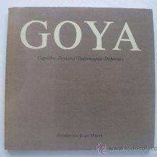 Libros de segunda mano: GRABADOS DE GOYA (CAPRICHOS-DESASTRES-TAUROMAQUIA-DISPARATES) - SANTANDER. Lote 27005800