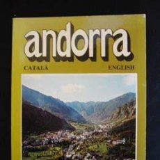 Libros de segunda mano: ANDORRA - CATALÀ, ENGLISH. EDITORIAL ESCUDO, 1988.. Lote 25989591
