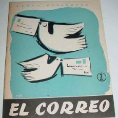 Libros de segunda mano: TEMAS ESPAÑOLES Nº 302 - EL CORREO - POR EMILIO PORNET DE ASENSI - ED. PUBLICACIONES ESPAÑOLAS. 1957. Lote 13525719