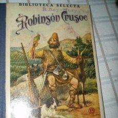 Libros de segunda mano: ROBINSON CRUSOE. Lote 26209102