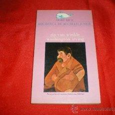 Libros de segunda mano: RIP VAN WINKLE. WASHINGTON IRVING. Lote 26758988