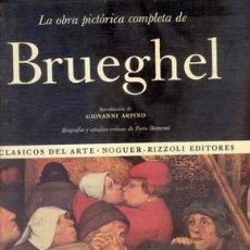 Libros de segunda mano: LA OBRA PICTORICA COMPLETA DE BRUEGHEL. Lote 26564622