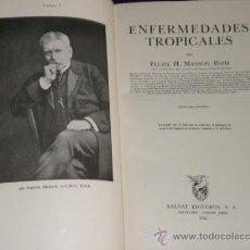Libros de segunda mano: ENFERMEDADES TROPICALES.. Lote 27453674