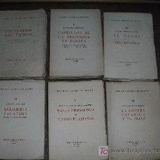 Libros de segunda mano: 1953-58 BIBLIOTECA LITERARIA DEL RELOJERO. ROBERTO CARBONELL BLASCO. OBRA COMPLETA EN 6 TOMOS. . Lote 26828285