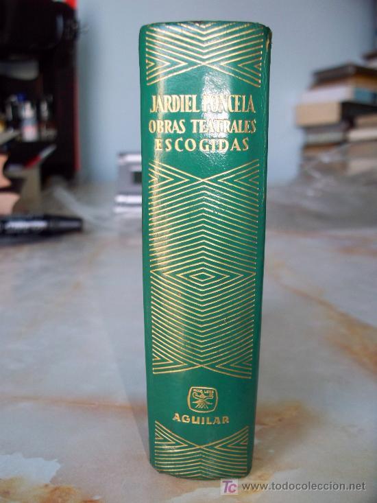 JARDIEL PONCELA OBRAS TEATRALES ESCOGIDAS ED.AGUILAR COL. JOYAS. (Libros de Segunda Mano (posteriores a 1936) - Literatura - Otros)