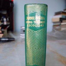 Libros de segunda mano: JARDIEL PONCELA OBRAS TEATRALES ESCOGIDAS ED.AGUILAR COL. JOYAS.. Lote 27106512