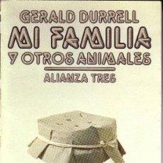 Libros de segunda mano: MI FAMILIA Y OTROS ANIMALES. Lote 19879