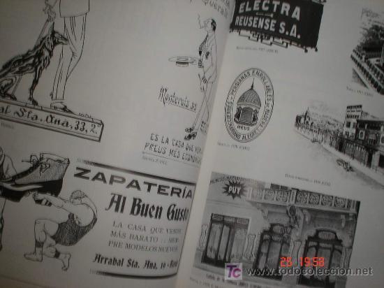 Libros de segunda mano: 250 ANYS DE PUBLICITAT COMERCIAL A REUS - LIBRO catalogo EXPOSICION museu comarcal 1998 - Foto 3 - 26662717