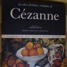 Libros de segunda mano: LA OBRA PICTORICA COMPLETA DE CEZANNE MAS DE 900 ILUSTRACIONES. Lote 25524204