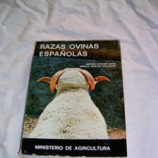 Libros de segunda mano: RAZAS OVINAS ESPAÑOLAS. Lote 13933405