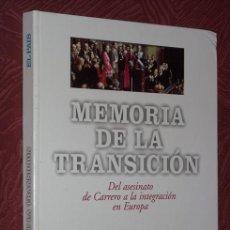 Libros de segunda mano: MEMORIA DE LA TRANSICIÓN POR JOAQUÍN PRIETO DE EL PAÍS EN MADRID 1995. Lote 25537164
